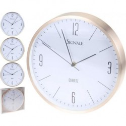 RELOJ DE PARED ALUMINIO 300X38MM